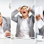 Remote workers burnout overworked unhappy stressed
