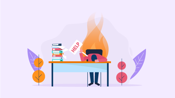 Don't be afraid to ask for help when you need it to avoid burnout